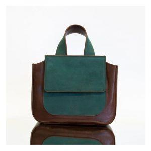 mano braun/grün - Handtasche