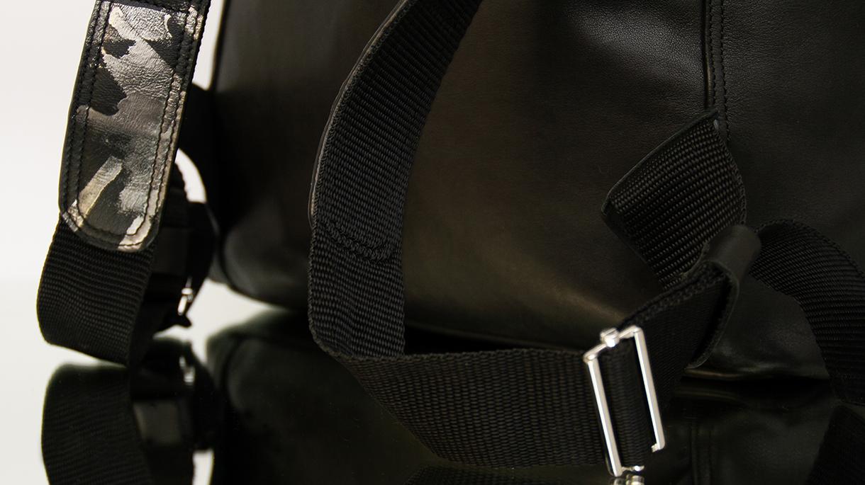 midi schwarz silber